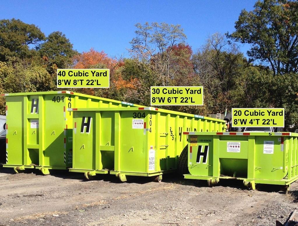 Dumpster Sizes-Greensboro Dumpster Rental & Junk Removal Services-We Offer Residential and Commercial Dumpster Removal Services, Portable Toilet Services, Dumpster Rentals, Bulk Trash, Demolition Removal, Junk Hauling, Rubbish Removal, Waste Containers, Debris Removal, 20 & 30 Yard Container Rentals, and much more!